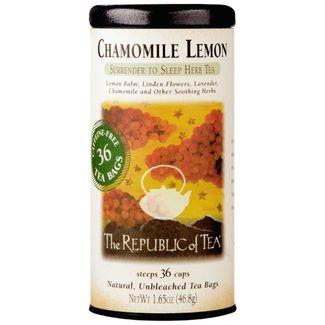 Chamomile Lemon Herbal Tea Bags