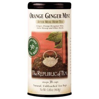 Orange Ginger Mint Herbal Tea Bags