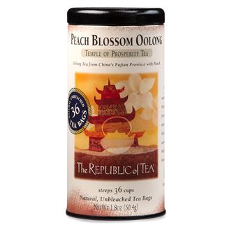 Peach Blossom Oolong Tea Bags