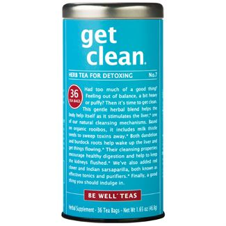 get clean® - No. 7 Herb Tea for Detoxing