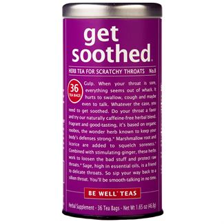 get soothed® - No. 8 Herb Tea for Scratchy Throats