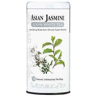 Asian Jasmine 100% White Tea Bags
