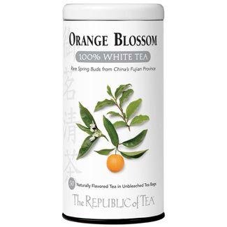 Orange blossom 100 white tea bags the republic of tea orange blossom 100 white tea bags v00740g mightylinksfo
