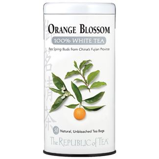 Orange Blossom 100% White Tea Bags