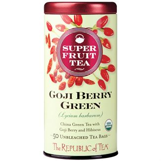 Organic Goji Berry Green Superfruit Tea Bags