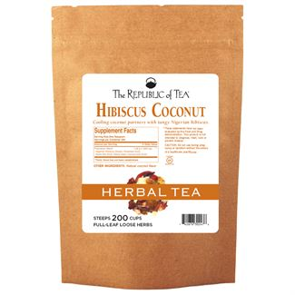 Hibiscus Coconut Full-Leaf