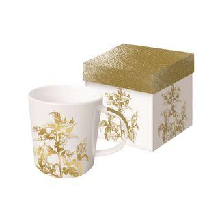 Golden Flora Boxed Mug