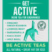 Get Active® Green Rooibos Tea Bag