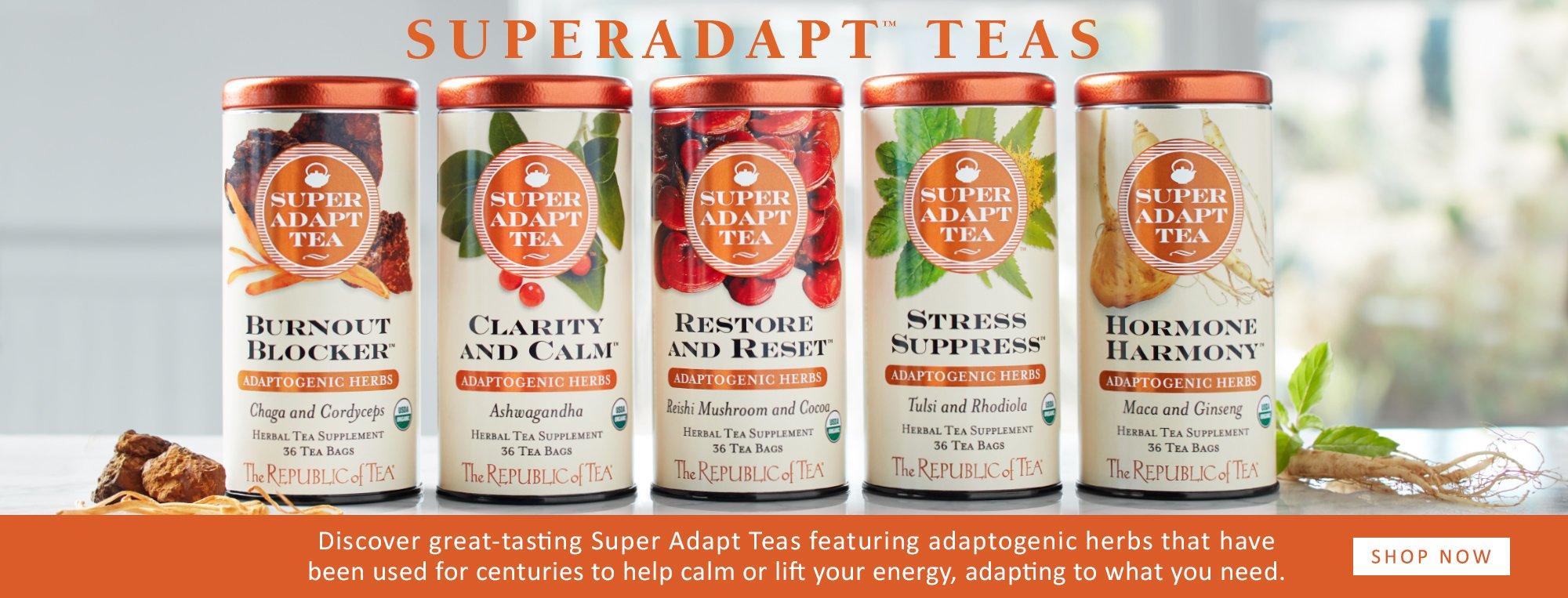 SuperAdapt™ Teas