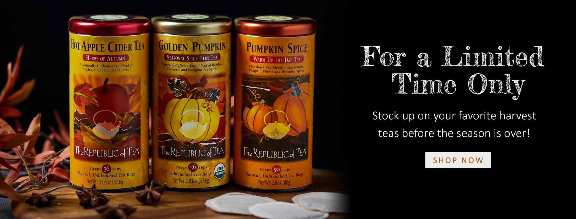 Fall Teas | The Republic of Tea